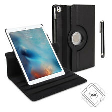 """360° Rotating PU Leather Stand Case Cover Protector for iPad Pro 9.7"""" (Black)"""