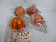 Honda 90 C70 CB100 CT CG S110  may XL350 XL250 MT250 CB750 XL125 Lens Winker NOS