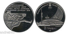 Ukraine 2012 Coin 2 UAN hryvnia Junior World Championships in Athletics