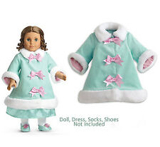 """American Girl MARIE GRACE FANCY COAT for 18"""" Dolls Jacket Clothes Retired NEW"""