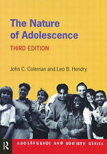 The Nature of Adolescence. 3e (Adolescence and Society Series),GOOD Book