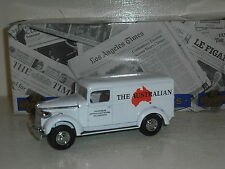 Matchbox Yesteryears YPP07 1937 GMC Van The Australian newspaper