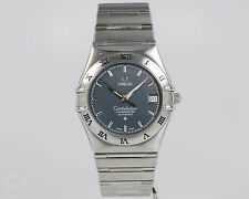 Stainless Steel Men's Omega Constellation Automatic Chronometer w/ Box and Books