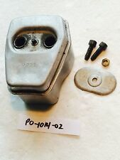 Used OEM Muffler w/ Bolts Poulan Pro Chainsaw 222 38CC Box 3