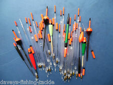 50 ASSORTED RIVER & LAKE FLOATS CANAL COARSE CARP MATCH FEEDER FLOAT ROD FISHING
