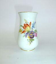 Porzellanvase mit Blumenmalerei Meissen 20 Jh. Vase