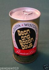 BEAN AND BACON DAYS BEER METAL CAN ALUMINUM PULL TOP VINTAGE BO 1978 EMPTY