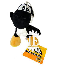 SUPER MARIO BROS. YOSHI NERO PELUCHE PORTACHIAVI plush keychain black doll new