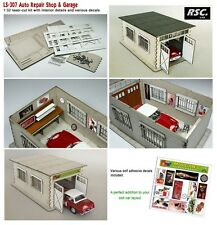 1:32 GARAGE REPAIR WORKSHOP - TALLER REPARACIONES - ATELIER - WERKSTATT DIORAMA