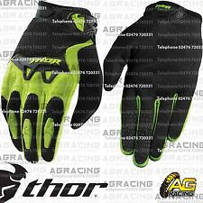 Thor Spectrum Gloves Green Black Youth Kid Children Large Motocross Enduro Quad