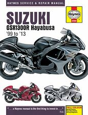 HAYNES 4184 MOTORCYCLE SERVICE REPAIR MANUAL SUZUKI GSX1300R HAYABUSA 1999 - 13