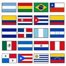 Latin America 3x5 Flag Set of 20 Country Countries Polyester Flags grommets