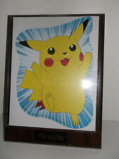 Pokemon Pikachu Wood Plaque Wall Art