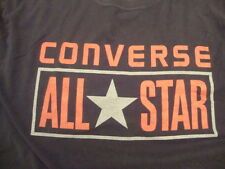 Converse All Star Black T Shirt (size not indicated, fits like a L)