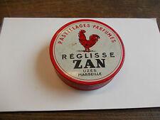 boite pastillages parfumés - réglisse zan - uzès Marseille
