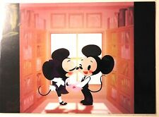 "Disneyland Postcard - WonderGround Gallery - ""Smooch"" by June Kim"