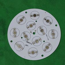 1PCS 1W 3W led Aluminum PCB Circuit Board 110mm Round