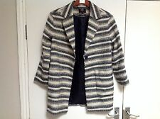 M&S Autograph Collared Neck Overcoat Size: 8
