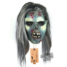 Horror Latex Zombie Face Halloween Mask Fancy Party Costume Scary Dress Props