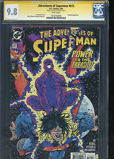 Adventures of Superman #512 CGC 9.8 SS Barry Kitson SINGLE HIGHEST GRADED IN SS