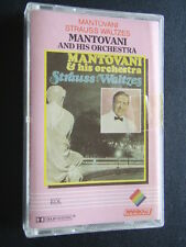 MANTOVANI AND HIS ORCHESTRA - STRAUSS WALTZES CASSETTE