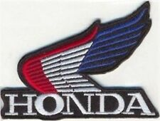 HONDA WING RED WHITE BLUE Embroidered Motorcycle MC Biker Vest Patch PAT-0813