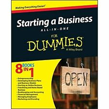 Starting a Business All-In-One For Dummies, PAPERBACK, Consumer Dummies, 2015