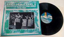 """Louis Armstrong """"Satchmo's Collector's Items 1936-1937"""" LP MCA-1322 US"""