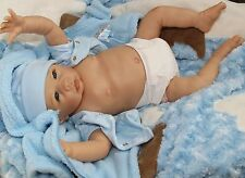 """DOG-GONE CUTE!"" Lifelike Collectible 20 Inch Newborn Baby Boy Doll"