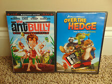 LOT (2) The Ant Bully & Over The Hedge Movies DreamWorks DVD Widescreen