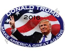 "2016 DONALD TRUMP ""MAKING AMERICA GREAT AGAIN"" OVAL PRESIDENTIAL CAMPAIGN BUTTON"