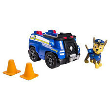 Paw Patrol Chase's Cruiser Vehicle Car w Mini Figure Playset Toy NEW 3+
