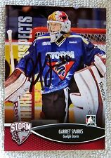 Toronto Maple Leafs Garret Sparks Signed 12/13 ITG H&P Guelph Storm Card Auto