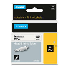 DYMO Rhino Poly Industrial Label Tape Cassette 3/8 x 5 ft White (DYM18053)