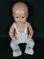 Alte Schildkröt Puppe Puppet  Strampelchen mit Stimme u.Schlafaugen, Nr.45