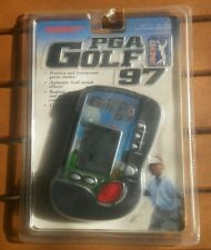 New PGA Golf Tour 1997 Tiger Electronic Handheld Video Game LCD Toy Model 71-121