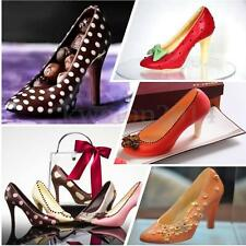 3D High Heel Shoe Soap PC Mold Chocolate Candy Cookies Jelly Mould Cake Decor