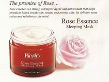 Bioglo Rose Essence Sleeping Mask+ Aloe+ Ginkgo+ Cucumber Extract Overnight Mask