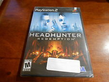 +++ HEADHUNTER REDEMPTION Playstation 2 PS2 Game NEW SEALED!! +++