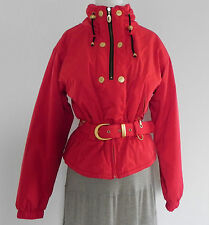 Fera Red Belted Ski / Snowboard Jacket with Thermolite Insulation Size 8