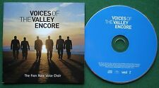 The Fron Male Voice Choir Voices of The Valley Encore inc Yesterday + CD