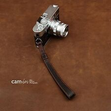 CAM2022 Cam-in Leather Wrist strap Hand black Nikon Leica Canon Sony Ring