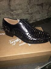 New Mens Christian Louboutin Bruno Spike Shoe Size 6