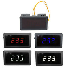 AC70-400V Digital Alternating Current High-precision Safe Voltmeter Voltage LED