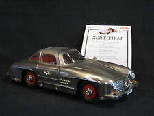 Märklin Mercedes-Benz 300 SL 1:16 Metal Tinplate Racer (JS)
