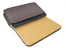 Leather Belt Pouch Magnetic Flip Cover For Cheers C28 3.5 inch Brown
