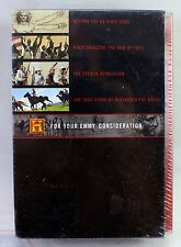 The History Channel: For Your Emmy Consideration (DVD, 2005) 8-Disc Box NEW Seal