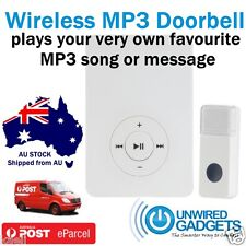 NEW DIY WIRELESS MP3 MUSIC DOORBELL Play ‪‪Beyoncé‬ Adele Taylor Swift