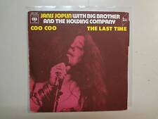"""JANIS JOPLIN w/BIG BROTHER & HOLDING COMPANY:Coo Coo-Last Time-France 7"""" CBS PSL"""
