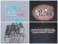 LOT of 4 different AMERICAN IDOLS LIVE! tour YOUTH concert T-SHIRTS